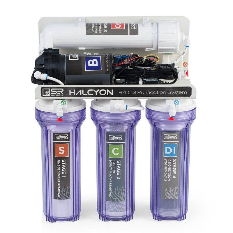 SR Aquaristik SR Halcyon 4 Stage RODI System