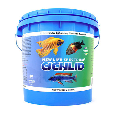 New Life International NLS Cichlid Naturox 2200g 1mm