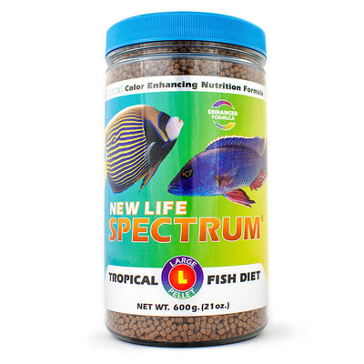 New Life International NLS Large Fish Pellets Naturox 600g 3mm