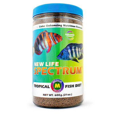 New Life International NLS Medium Fish Pellets Naturox 600g 2mm