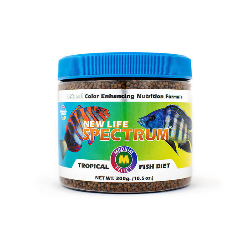 New Life International NLS Medium Fish Pellets Naturox 300g 2mm