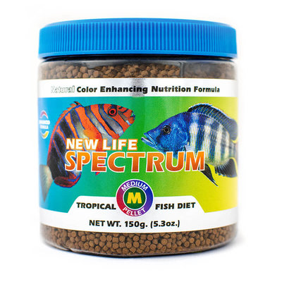 New Life International NLS Medium Fish Pellets Naturox 150g 2mm