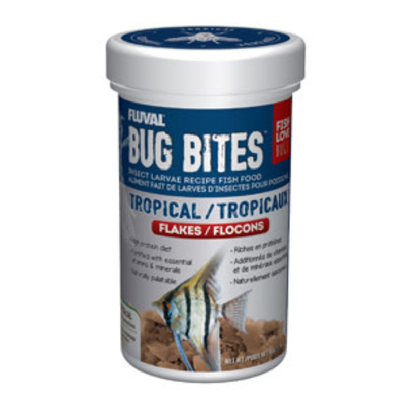 Hagen Products Bug Bites Tropical Flake 1.58oz