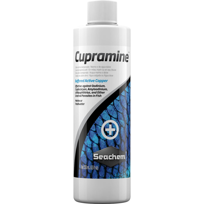 Seachem Laboratories Cupramine Copper 250 ml