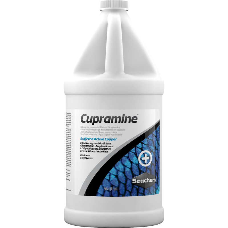 Seachem Laboratories Cupramine Copper 4L
