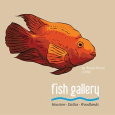 Fish Gallery Fish Gallery Tan Parrot Shirt