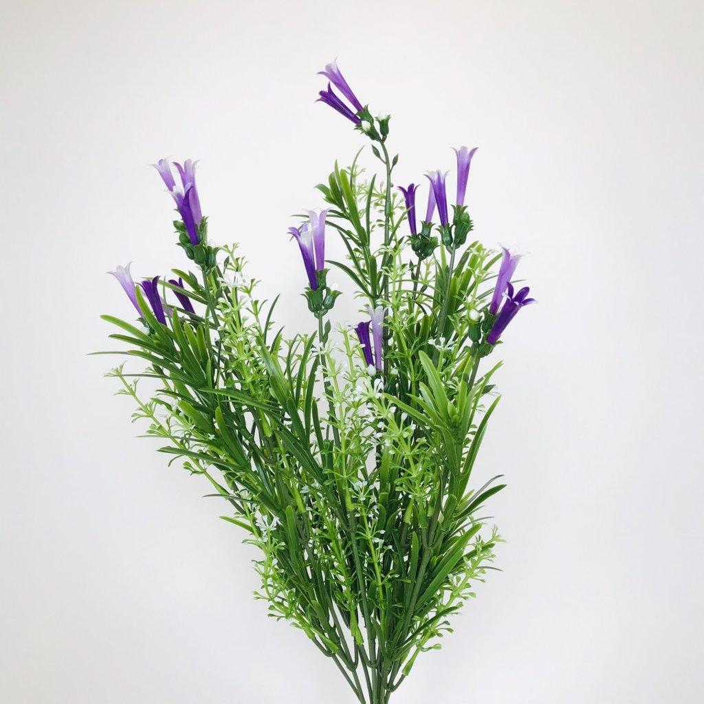 Purple Tube Flowers
