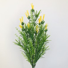 Yellow Tube Flowers