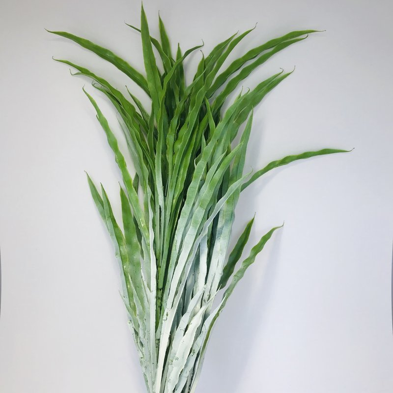"Fish Gallery Wavy Grass 36"" - White"