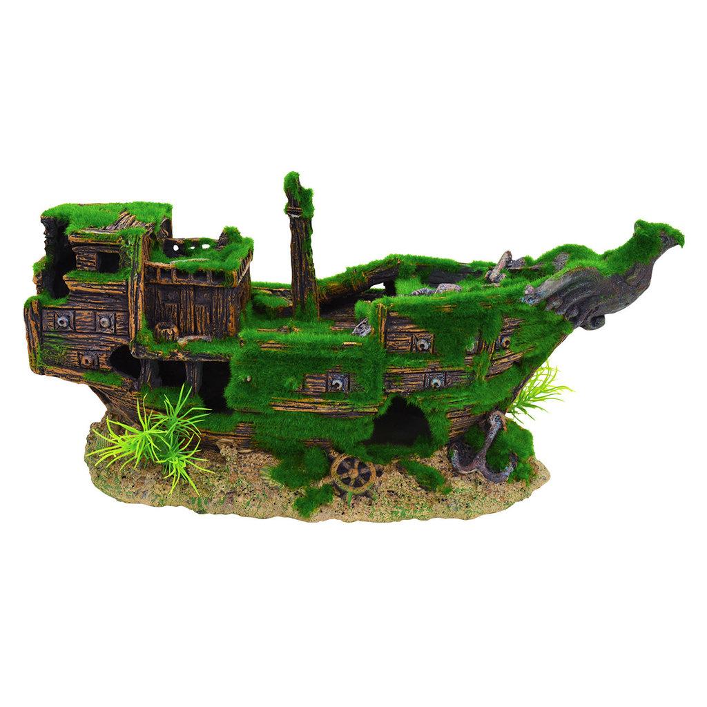 Underwater Treasure Underwater Treasures Mossy Shipwreck