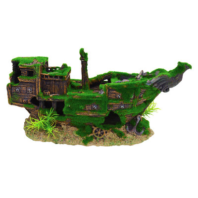 UnderwaterTreasures Underwater Treasures Mossy Shipwreck