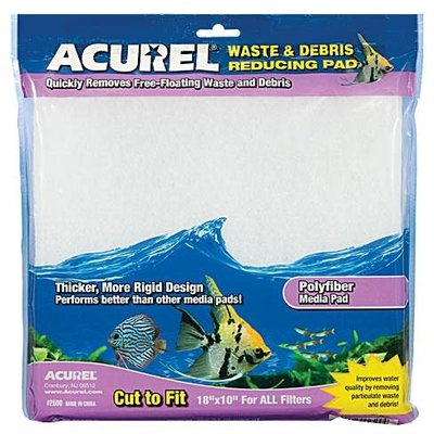 Acurel, Inc Acurel Polyfiber Media Pad 10x18