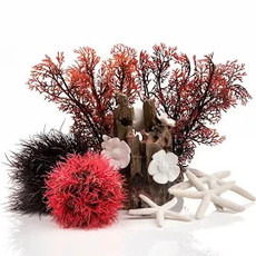 BiOrb BiOrb 15L Easy Decor Kit - Red Forest