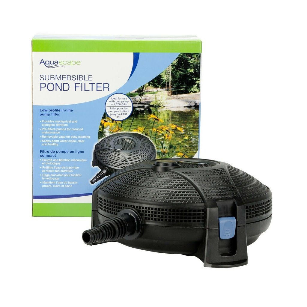 Aquascape Submersible Pond Filter 1250GPH