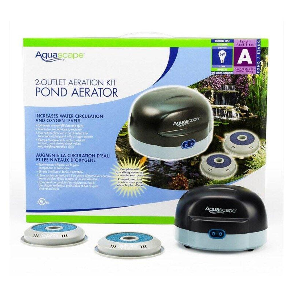 Aquascape 2 Outlet Aeration Kit Pond Aerator