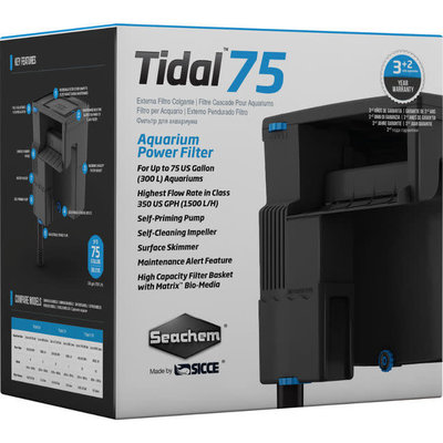Seachem Laboratories Tidal 75 Filter