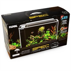 Hagen Products Fluval Spec V Aquarium Kit 5 G - White