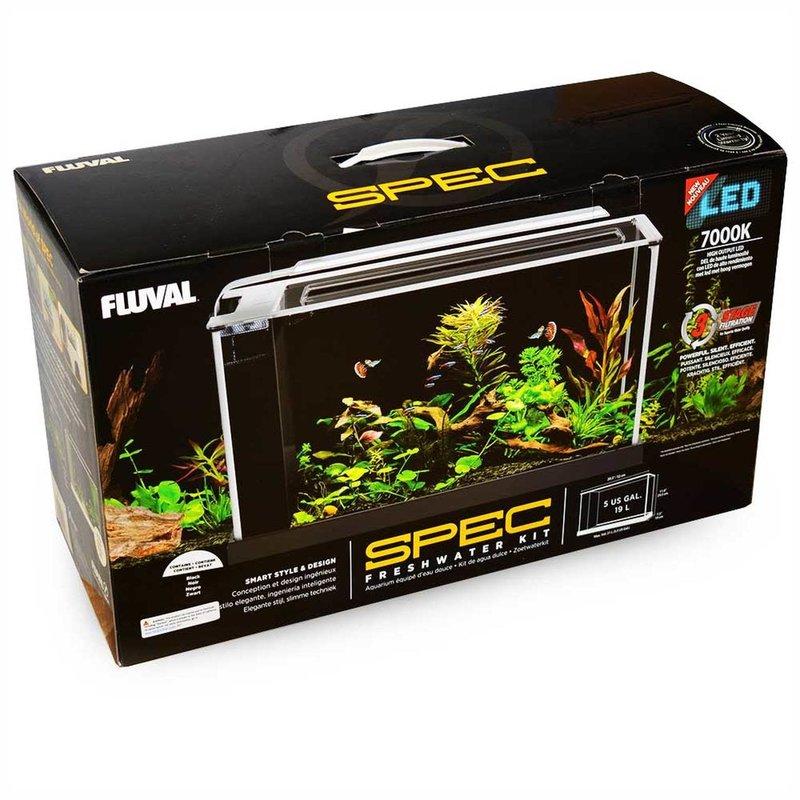 Hagen Products Fluval Spec V Aquarium Kit 5 G - White