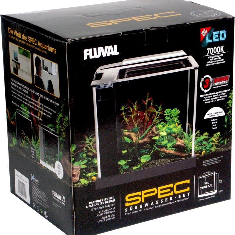 Hagen Products Fluval Spec III Aquarium Kit 2.6 G - Black