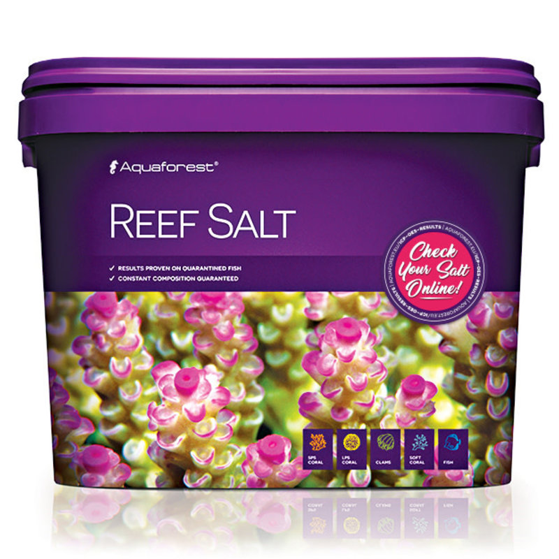 AquaForest Aquaforest Reef Salt 10kg Bucket