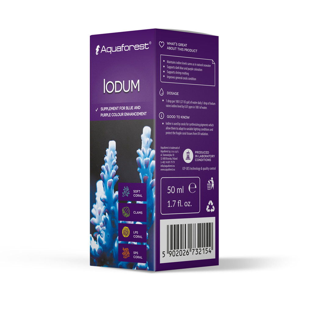AquaForest Aquaforest Iodum 50ml