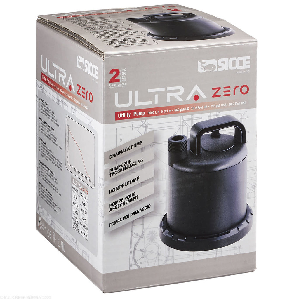 SICCE US INC Sicce UltraZero Utility Pump 793gph
