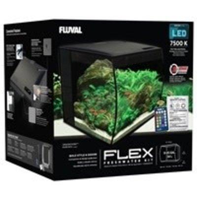 Hagen Products Fluval Flex Aquarium Kit 9 G - Black