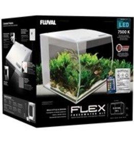 Hagen Products Fluval Flex Aquarium Kit 9 G - White