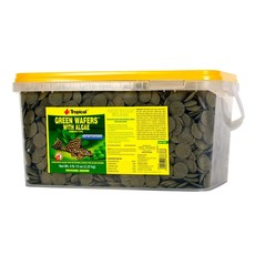 Tropical Green Wafers with Algae - 4.9 lb