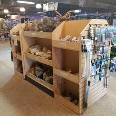 Rock Bin Store Fixture
