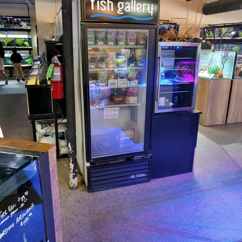 True Single Door Merchandising Freezer