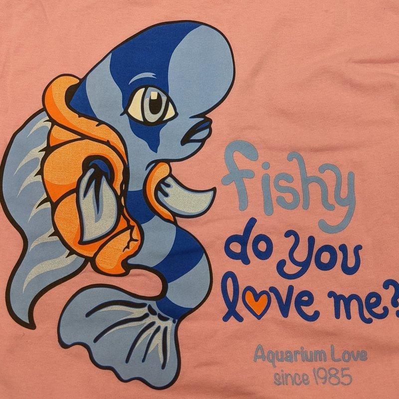 Fish Gallery Fish Gallery Pink Frontosa Shirt