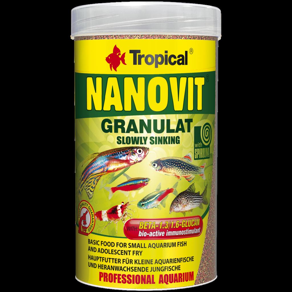 Tropical Nanovit Granules tin 100ml / 70g (2.47 oz)