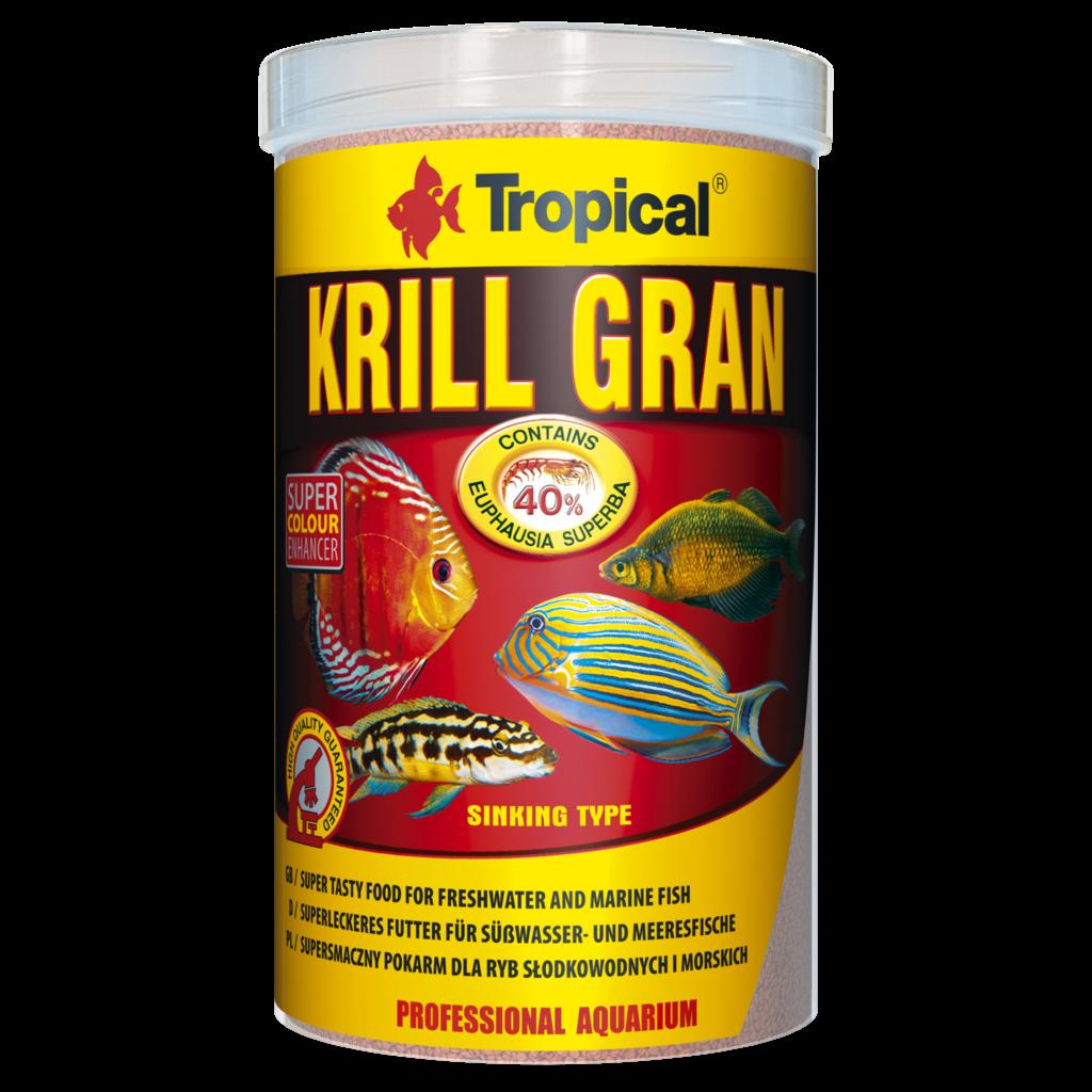 Tropical Krill Formula Granules tin 250ml / 135g (4.76 oz)