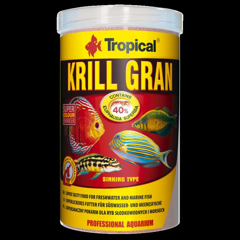 Tropical Krill Formula Granules tin 1000ml / 540g (19.05 oz)