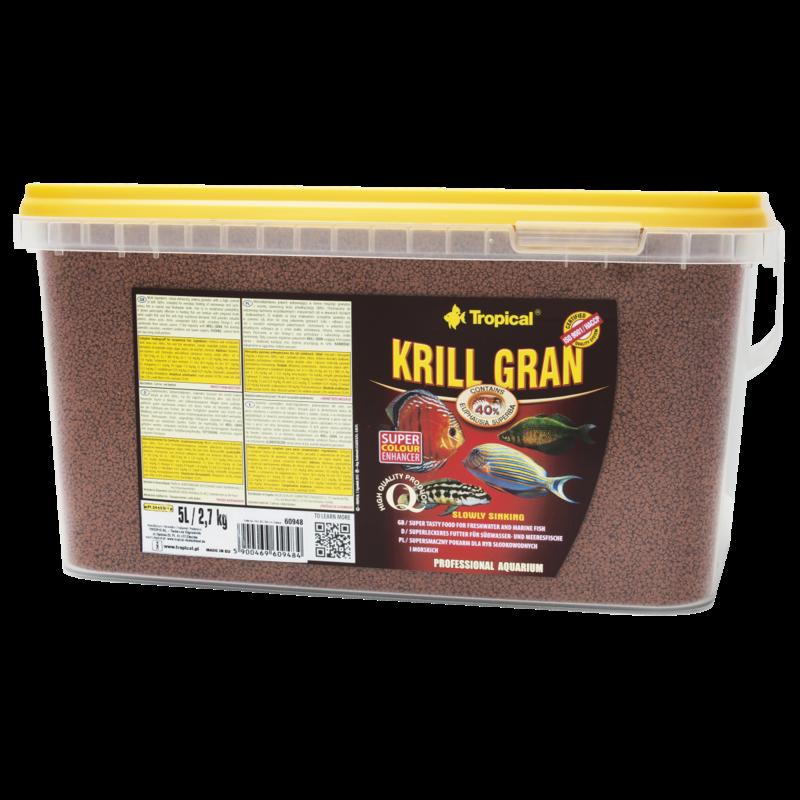 Tropical Krill Formula Granules bucket 5L / 2,7kg (5 lb 15 oz)
