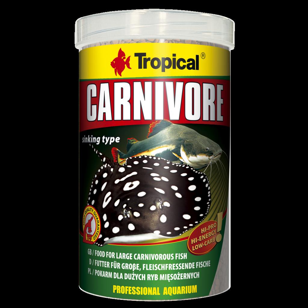 Tropical Carnivore Sinking Pellets tin 1000ml / 600g (21.16 oz)