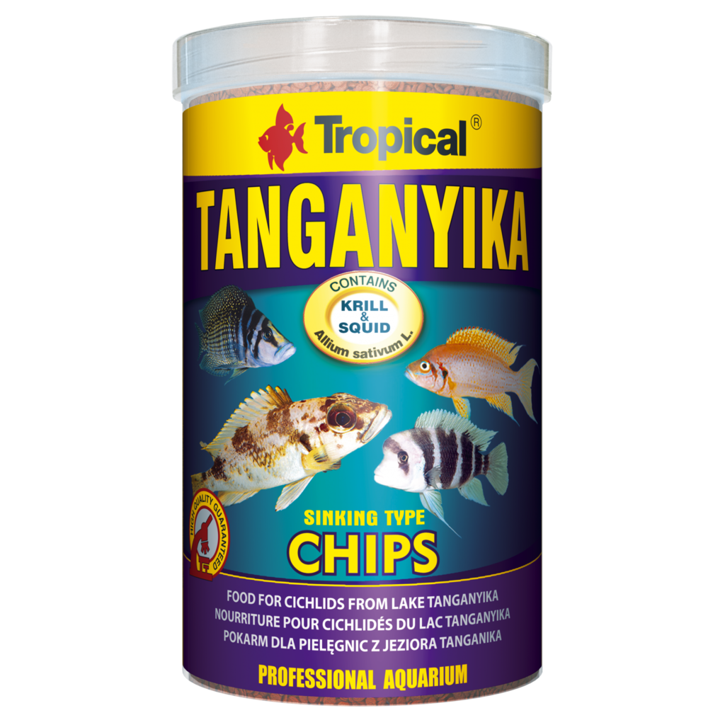 Tropical Tanganyika Chips 1000ML/520G (18.34 oz)