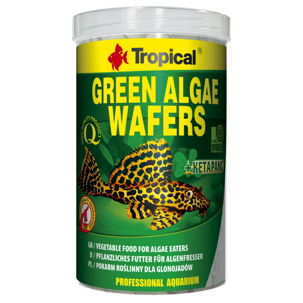 Tropical Green Wafers with Algae 250ML/113G (3.99 oz)