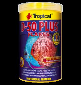 Tropical D-50 Plus Flakes tin 1000ml / 200g (7.05 oz)