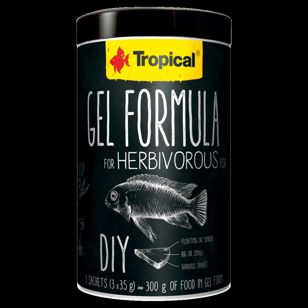 Tropical Gel Formula Herbivore 1000ML/105G (3x35g) (3x1.23 oz)