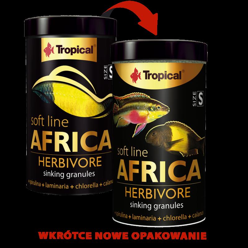 Tropical Soft Line Africa Herbivore 250ML/130G (4.59 oz)