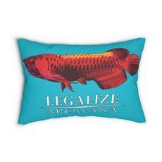 Printify Spun Polyester Lumbar Pillow