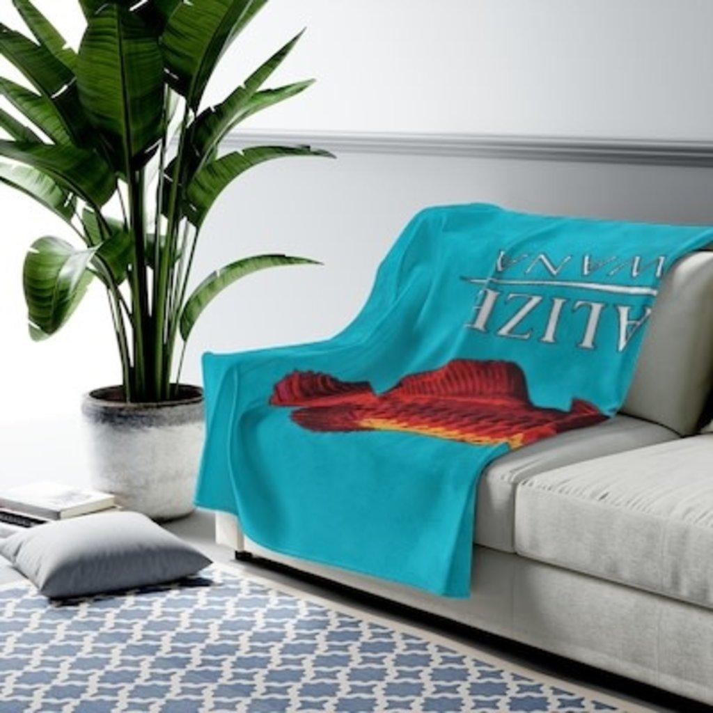 Printify Velveteen Plush Blanket