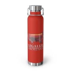 Printify Arowana 22oz Vacuum Insulated Bottle