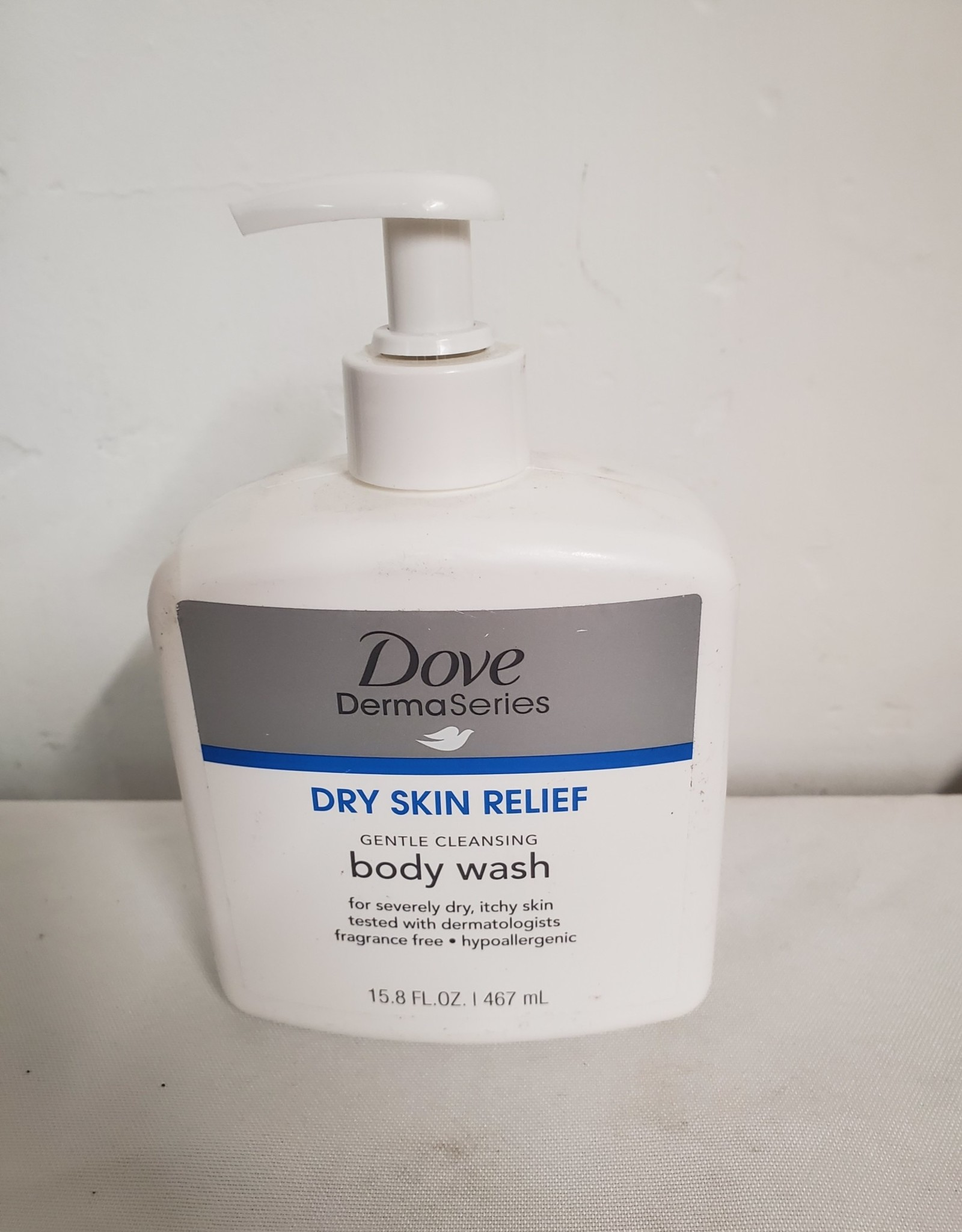 Dove Dermaseries Dry Skin Relief Gentle Cleansing Body Wash D3 Surplus Outlet