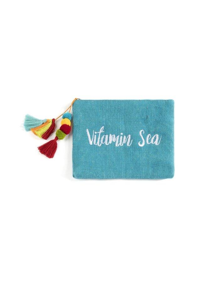 """""""Vitamin Sea"""" Zip Pouch"""