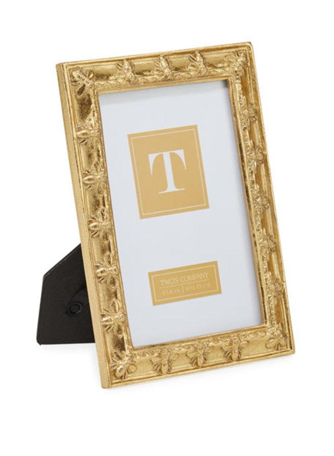 Golden Bee Frame, 4x6