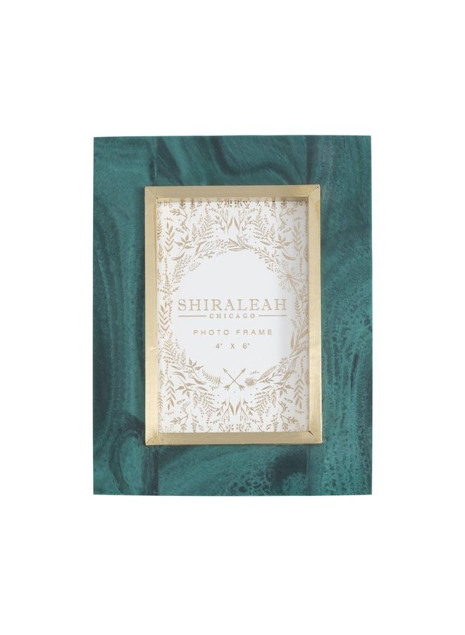 Green Granada Frame, 4x6