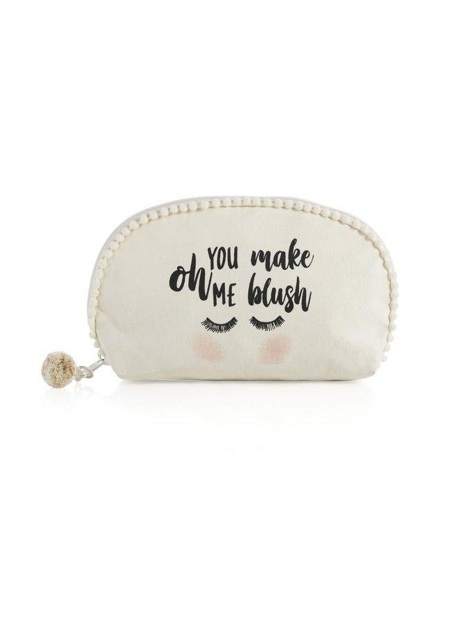 oh you make me blush pouch